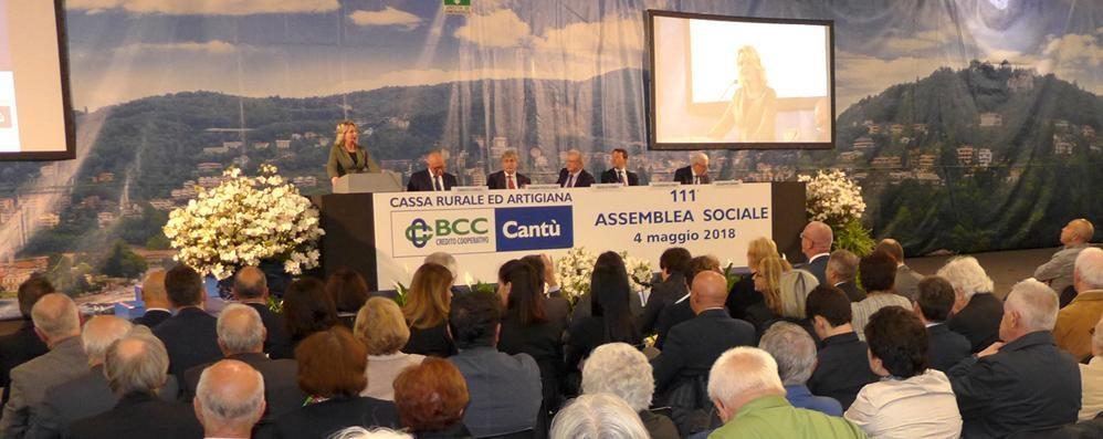 Cassa Rurale, boom di prestiti  Altri aiuti all'ospedale di Cantù