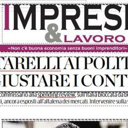 Cottarelli e le sfide del Tessile  Con La Provincia Imprese&lavoro