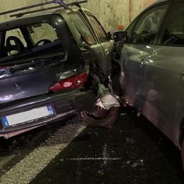 A9, incidente in galleria Traffico bloccato a Monte Olimpino