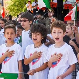 Festa della Repubblica Celebrazioni in piazza Cavour