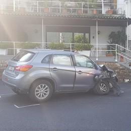 Laglio, auto fuori strada Ferite tre persone