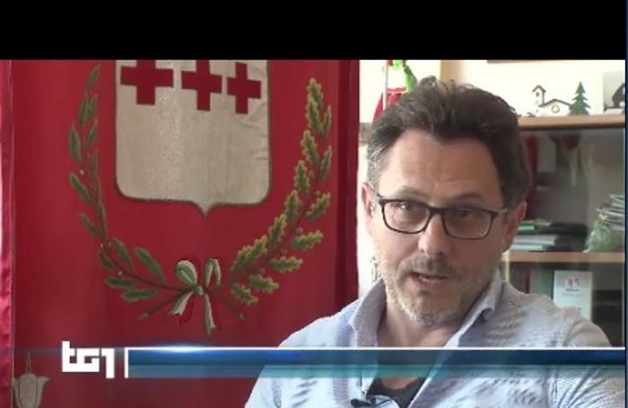 """Il """"caso Sorico"""" con il sindaco Ivan Tamola era finito anche al Tg1 nazionale"""