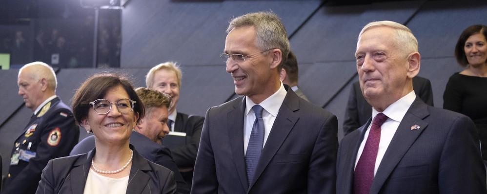 Ministro Difesa Trenta, Nato sia più flessibile, inizi a guardare anche a Sud