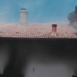 Fiamme in casa a Binago  Due bambini in ospedale