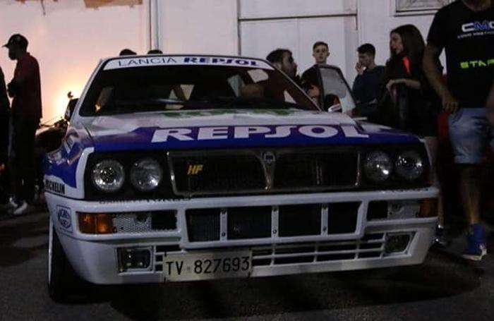 Una Lancia Delta HF
