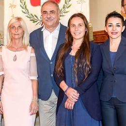Il sindaco LandriConte  e Como città delle donne