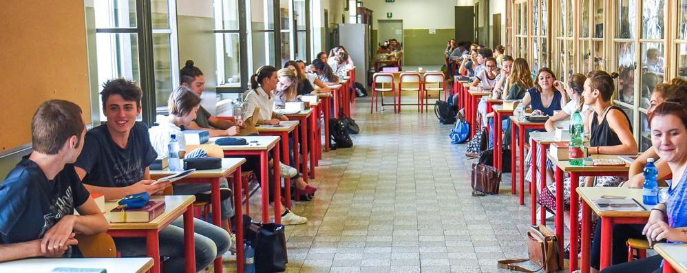 Como: maturità, l'ora X  Domani il tema per 1700 ragazzi