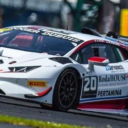 Trofeo Lamborghini  Roda corre a Misano