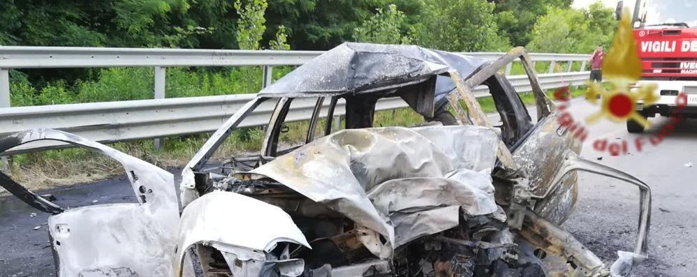 Incidente mortale a Turate  Vittima un ragazzo di 18 anni  Aveva appena preso la patente