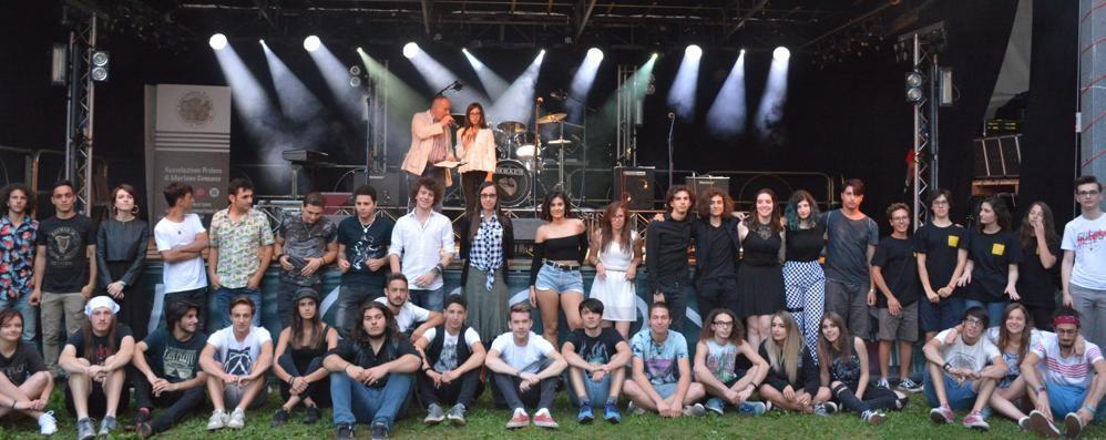 Martina e Heat Light su tutti  Successo del  festival  a Mariano