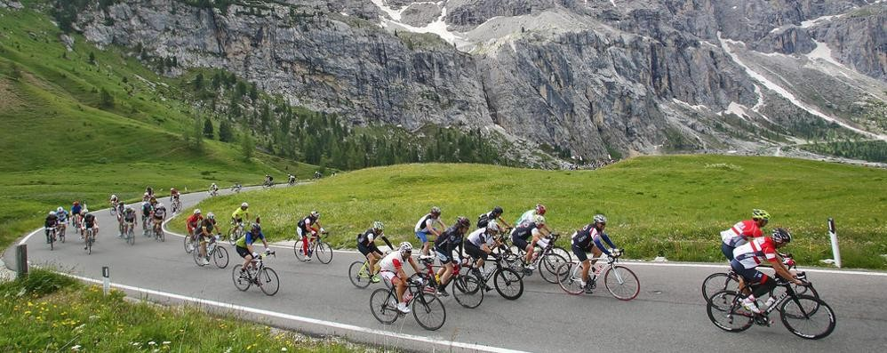 Maratona delle Dolomiti  Al via 46 comaschi