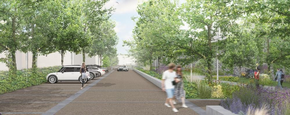«Viale Varese, no al parcheggio»  Firme e protesta in consiglio