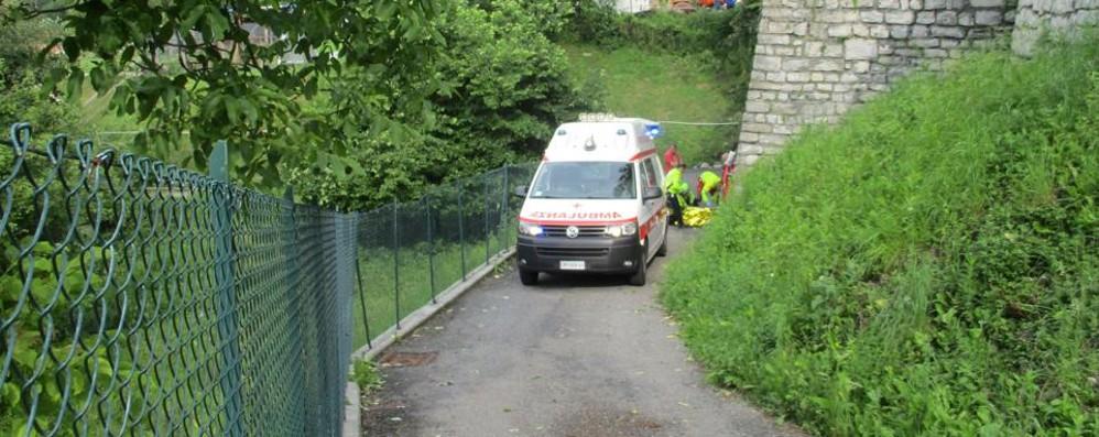 Incidente a San Fedele  Trovano il ferito dopo sei ore