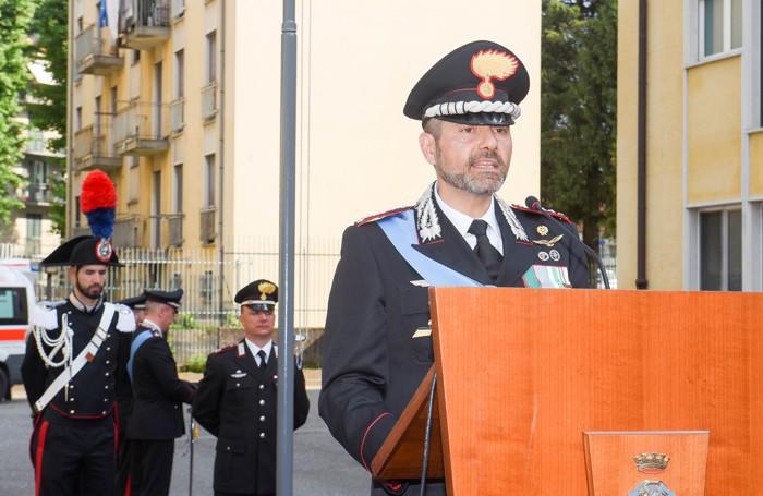 Como festa dei Carabinieri, il comandante provinciale Andrea Torzani