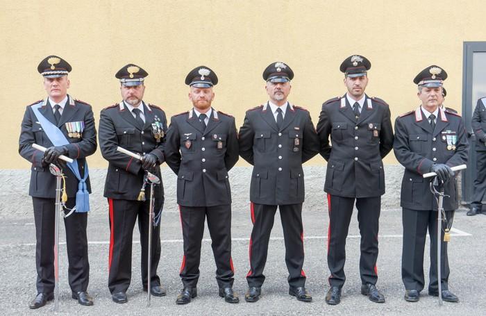 Como festa dei Carabinieri, i premiati