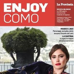 Arriva Enjoy Como  In edicola il nostro magazine