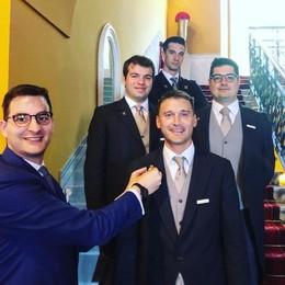 """""""Le chiavi d'oro"""" dell'ospitalità  Premio al Grand Hotel Tremezzo"""