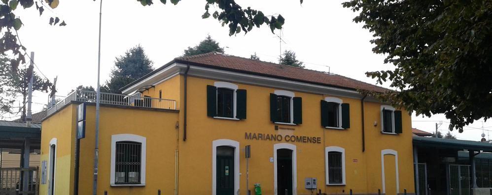 Spazio a disposizione dei Marianesi  Nell'ex appartamento del capostazione