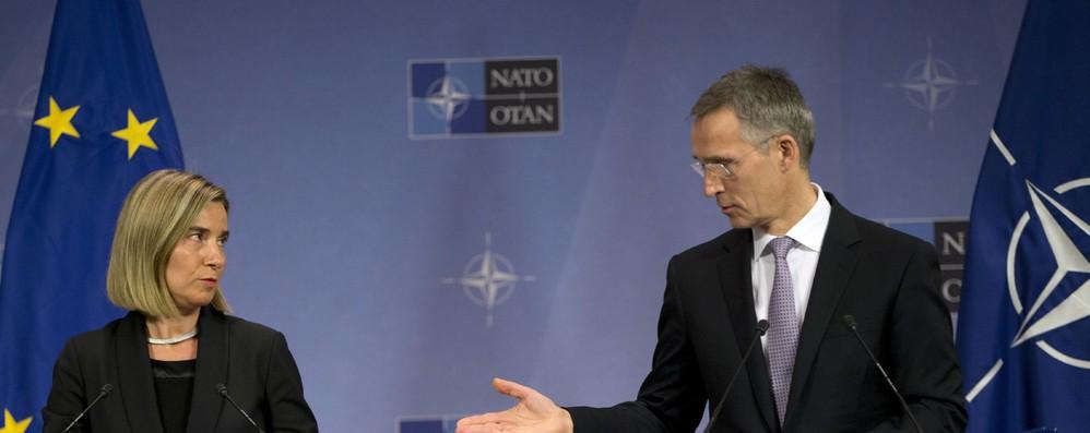 Ue e Nato riaffermano legame transatlantico e collaborazione
