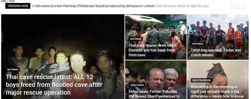 Thailandia, l'incubo è finito  Tutti in salvo i 12 ragazzi