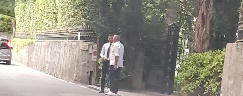 Clooney a villa Oleandra   dopo l'incidente in Sardegna