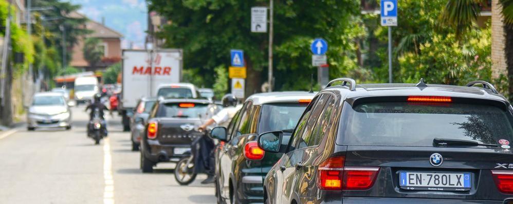 Via Bixio, i lavori proseguono  Disagi almeno fino a martedì