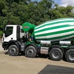 Rubati a Tavernerio  due camion betoniera