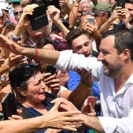 Da Como a Pontida  Salvini cita Miglio  tra storia e futuro