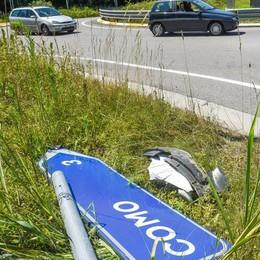 Incidente a Casnate  Muore stradino di quarant'anni