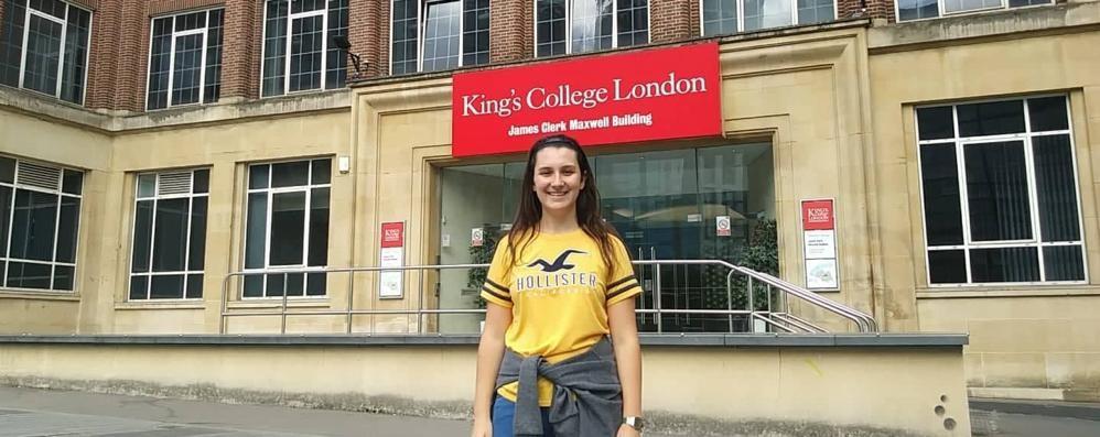 «Volevo quel 100 e lode  Era il mio passaporto  per il King's College»