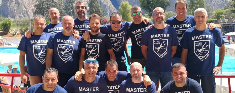 Pallanuoto Master Over 40  La Como Nuoto si piazza ottava