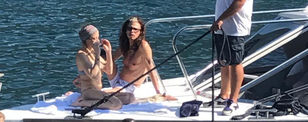 Un vip tira l'altro:  sul lago c'è Steven Tyler