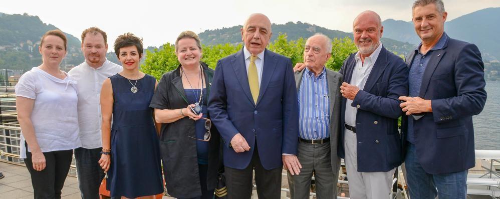 Galliani e Massaro  Quanto Milan alla Lario