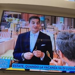 Il Grand Hotel Tremezzo Alla Vita in diretta sulla Rai