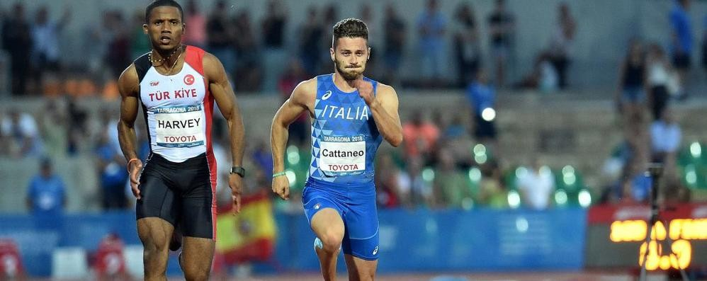 Cattaneo: «Felice per l'oro ma il bronzo sui 100 è meglio»