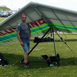Deltaplano caduto, pilota in Rianimazione  «Ma Davide è un grande esperto»