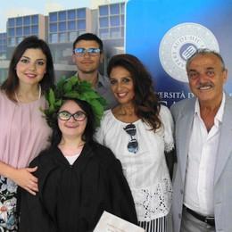 Il grande giorno di Claudia  Tesi di laurea all'eCampus
