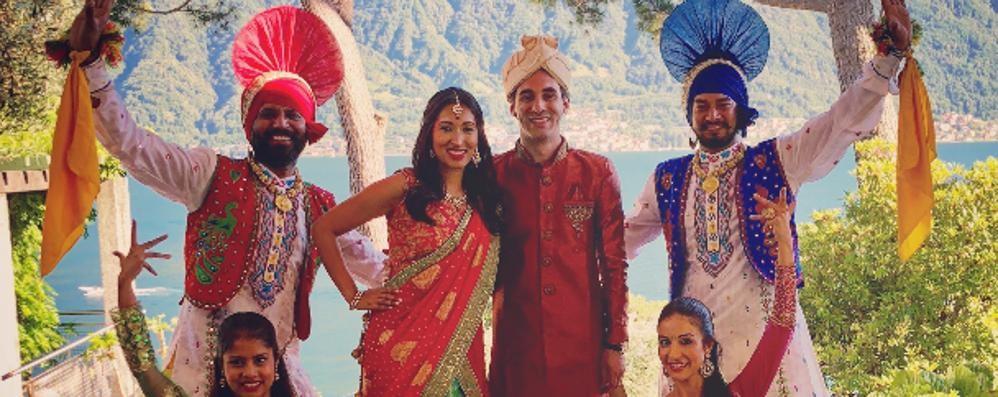 Dall'India a Villa Leoni per le nozze  Con il corpo di ballo di Bollywood