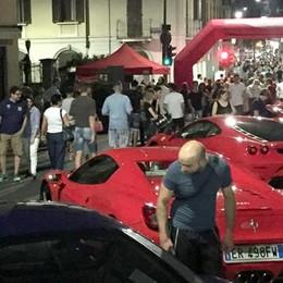 Erba, le Ferrari in centro   rilanciano gli affari