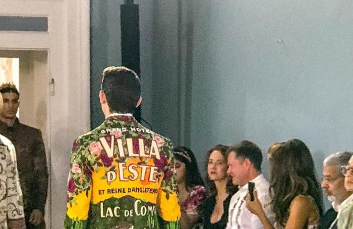 Tremezzo villa Carlotta evento Dolce & Gabbana