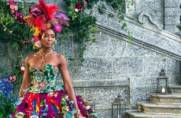 Tremezzo evento di Dolce & Gabbana, Naomi Campbell