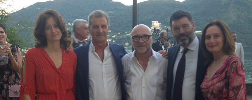 «Due giorni perfetti»  Orgoglio Tremezzina  per Dolce & Gabbana