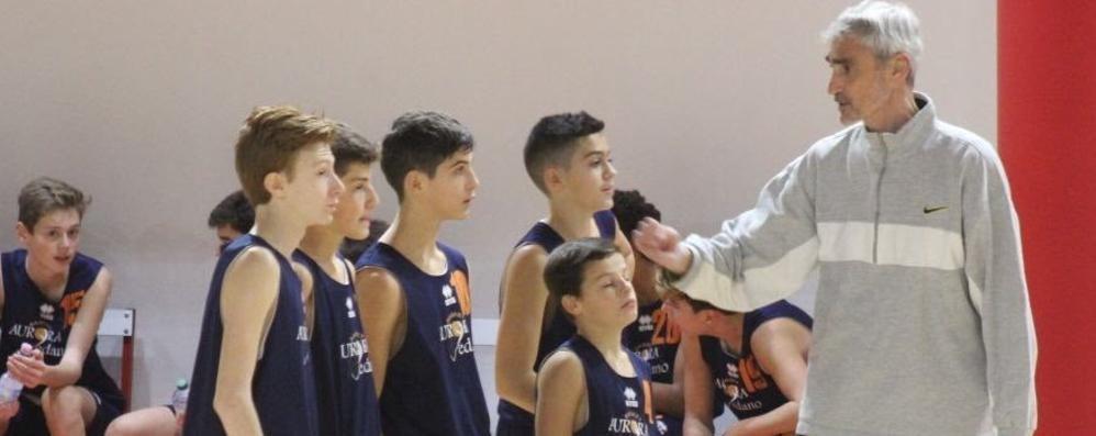 Cagno, l'ultimo saluto a Mottini  Un campione del grande basket