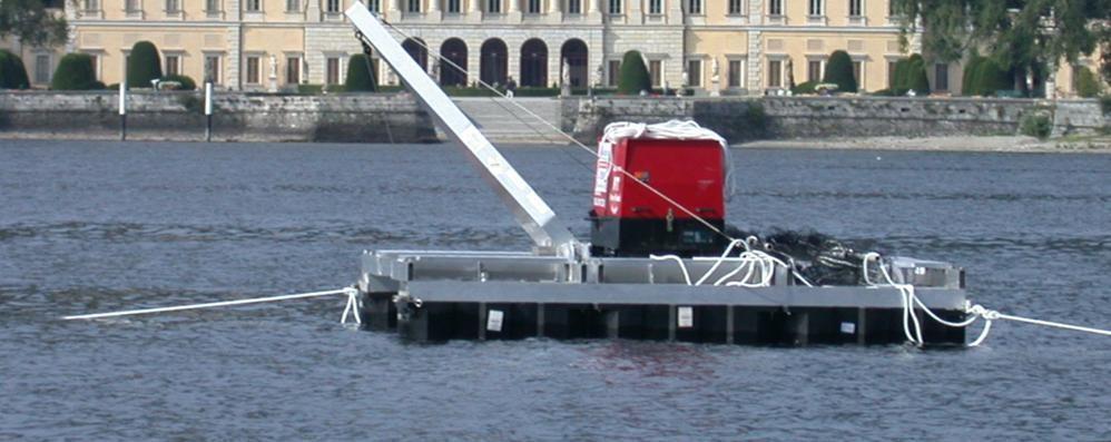 Como: le maxi ventole  per il lago pulito bloccate da anni