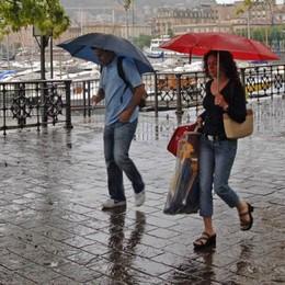 Forti temporali in arrivo  Allerta per il Comasco