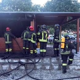 Arcellasco, in fiamme la sede  Corto circuito nel frigorifero