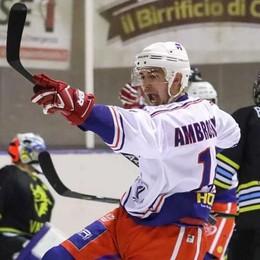 """Hockey Como, rinnovi pesanti Con Ambrosoli che dice """"23"""""""