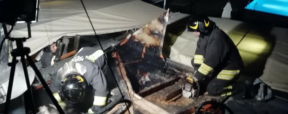 Rogo all'hotel Sheraton  Danneggiato il barbecue