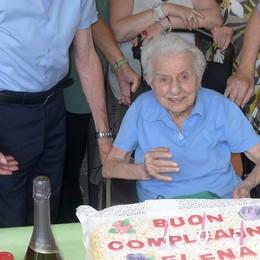 «Il segreto dei miei 105 anni  La polenta e tante verdure»