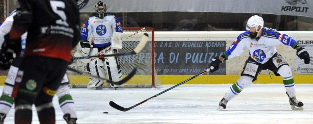 Hockey Como, un altro arrivo Da Chiavenna torna Lo Russo